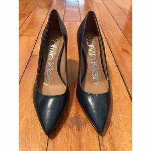 Calvin Klein's Women's Gayle Pointed Toe Pumps